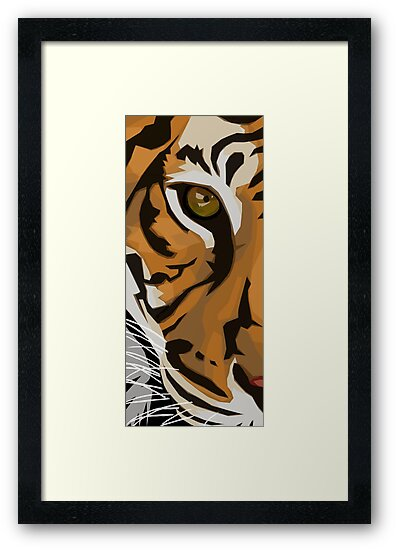 Eye Of The Tiger by Rhonda Blais
