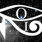 Orion & Eye of Horus by EyeMagined