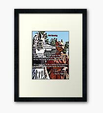 Hot Dancing by Ariel Framed Print