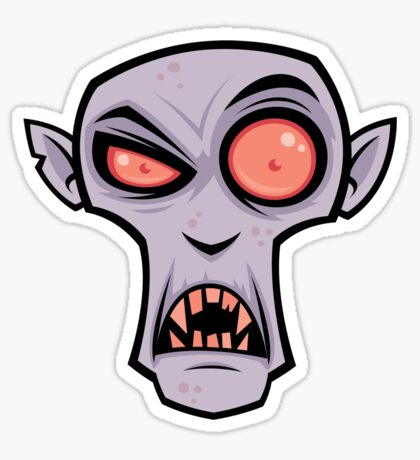 Count Dracula Sticker