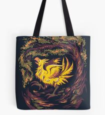 Chocobo with Blossoms Tote Bag