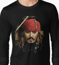Captain Jack Sparrow Long Sleeve T-Shirt
