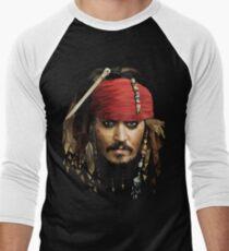 Captain Jack Sparrow Men's Baseball ¾ T-Shirt