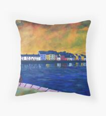 The Long Walk, Galway Throw Pillow