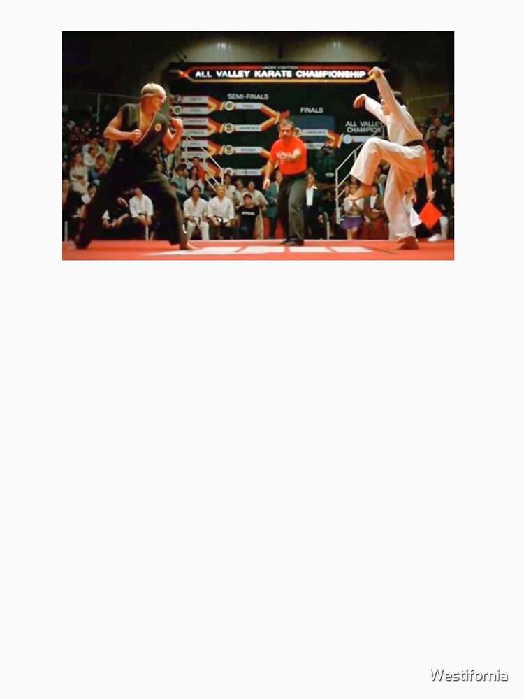 Karate Kid Kran Kick von Westifornia