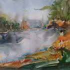 Autumn at the Lake by Stefano Popovski