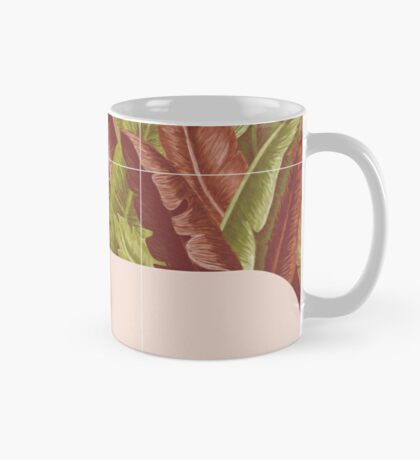 Mid-Century Tropical Way #redbubble #tropical Mug