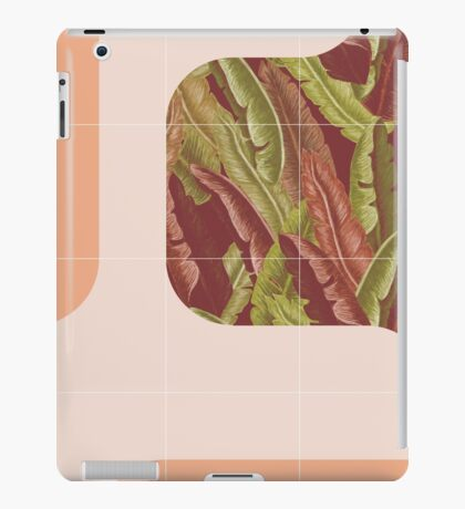 Mid-Century Tropical Way #redbubble #tropical iPad Case/Skin