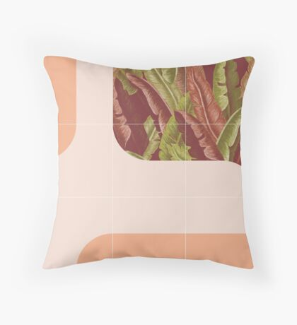 Mid-Century Tropical Way #redbubble #tropical Floor Pillow