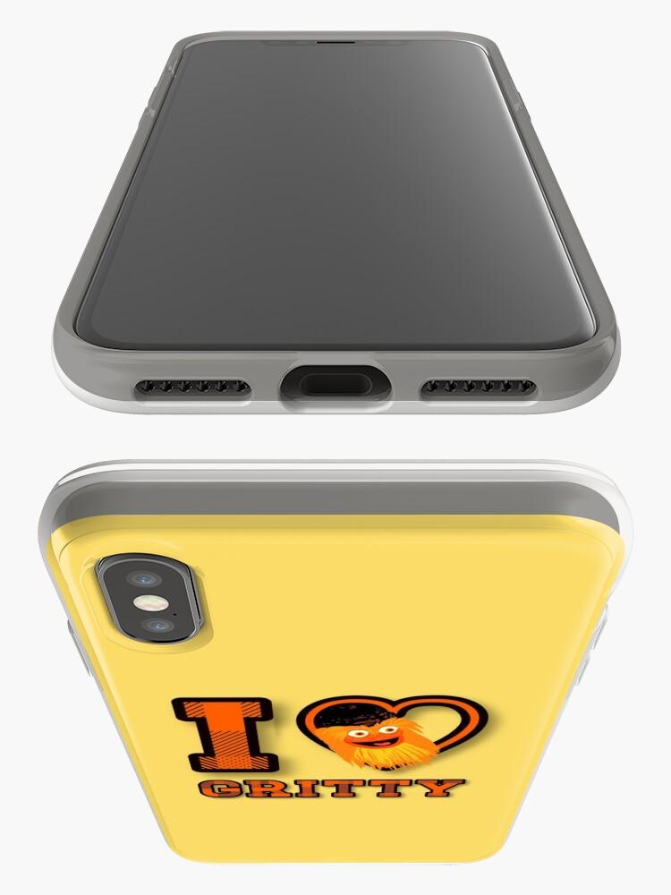 Vista alternativa de Funda y vinilo para iPhone Amo a Gritty