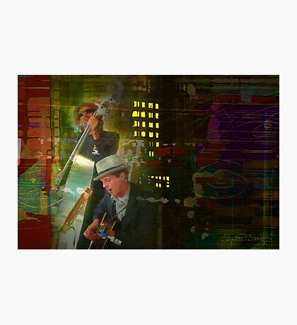 They played all night Photographic Print