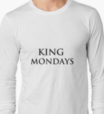 mondays Long Sleeve T-Shirt