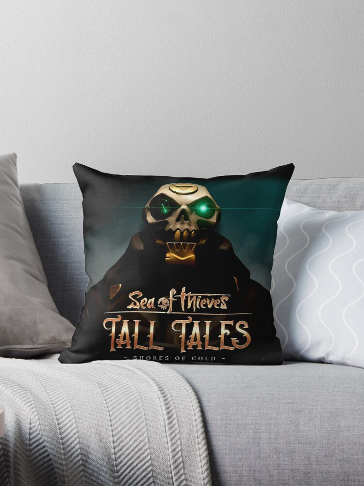 'Tall Tales Sea Of Thieves' Throw Pillow by amadipriscila