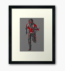 Ant-Man Vector Framed Print