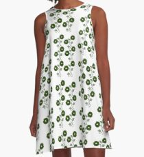Art Nouveau - Going Green!  A-Line Dress
