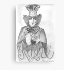 Mad Hatter's Party Canvas Print