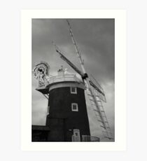 Cley Mill Art Print
