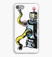 Really Rad Retro Robot iPhone Case/Skin