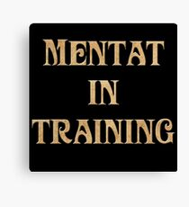 Mentat In Training Canvas Print