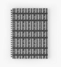 Salk Institute, Louis Kahn - Modern architecture series Spiral Notebook