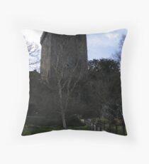 Blarney Stone Castle Throw Pillow
