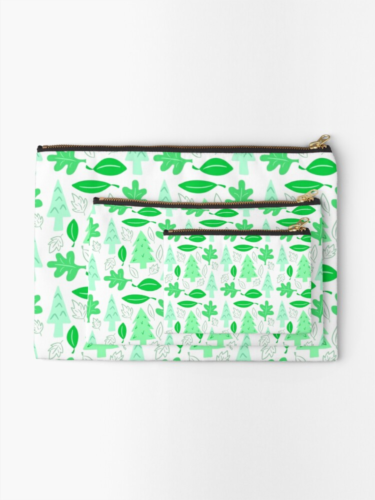 Alternate view of Off To The Park Zipper Pouch