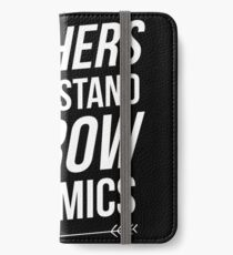 Archers understand arrow dynamics iPhone Wallet/Case/Skin