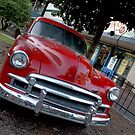 Red Chevy Rustbucket by Pirate77