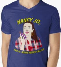 nancy jo, this is alexis neiers calling Mens V-Neck T-Shirt