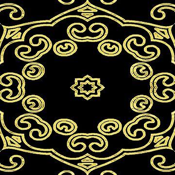 Intricate Gold by Rina-J