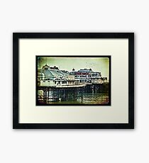 Brighton's Victorian West Pier Framed Print