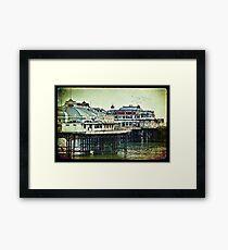 Brighton's Victorian West Pier Framed Print
