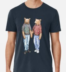 Will you bear with me? Gay Bear Art. LGBT. Queer. Pride. Premium T-Shirt