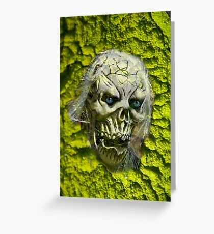 Visitor from beyond Greeting Card