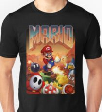 Mario's Doom Slim Fit T-Shirt