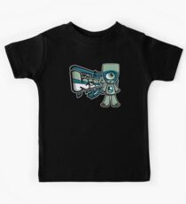 Cyclops Mascot Tag Kids Tee