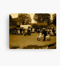scooter rally  Canvas Print