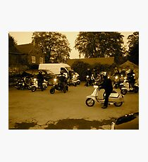 scooter rally  Photographic Print