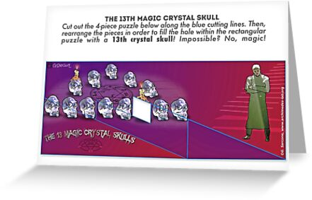 The 13th Magic Crystal Skull by Gianni A. Sarcone
