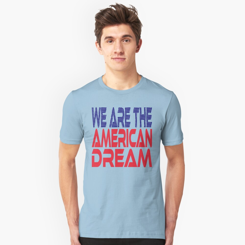 #OurPatriotism: We Are the American Dream by Onjena Yo Slim Fit T-Shirt