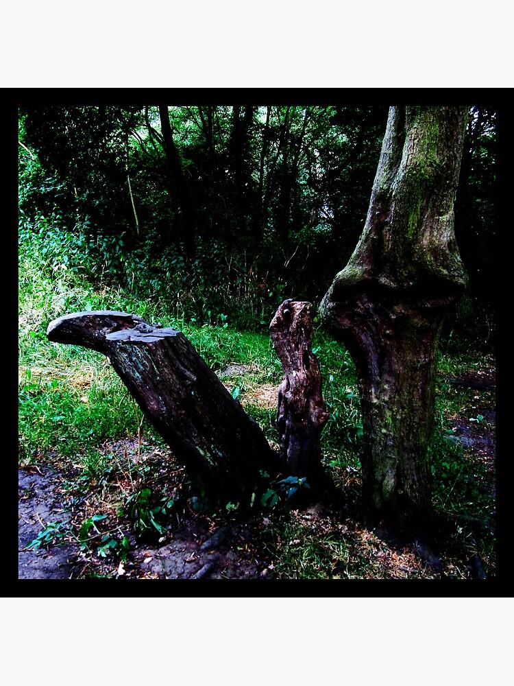 Mummy Tree Baby Tree by Briandamage