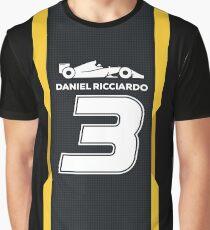 Daniel Ricciardo 2019 Grafik T-Shirt