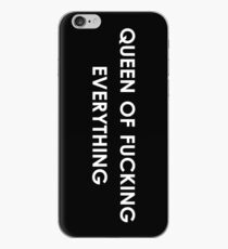 queen of fucking everything iPhone Case