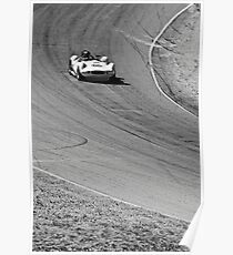 White Chaparral 1 Racing Mosport Poster
