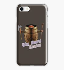 War Barrel Bombur iPhone Case/Skin