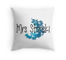 Stiles Stilinki's Wife Throw Pillow