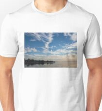 Of Feathery Clouds and Tranquil Mornings Unisex T-Shirt