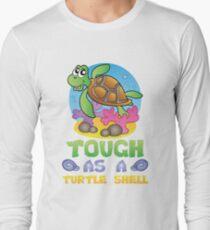 Savvy Turtle Tough As A Turtle Shell Long Sleeve T-Shirt