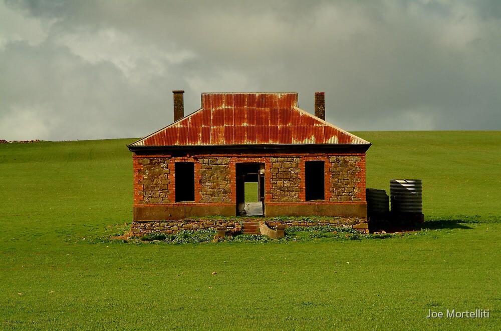 Passing Storm, Burra Ruins by Joe Mortelliti