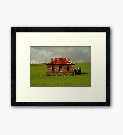 Passing Storm, Burra Ruins Framed Print